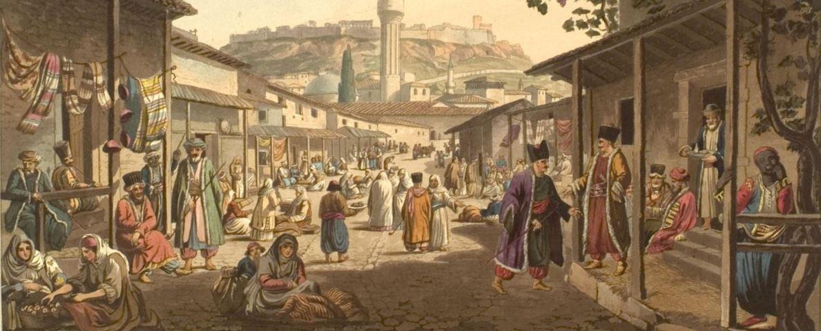 Το παζάρι της Αθήνας (1805-1806) – Διαδραστική εικόνα