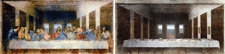 Ισπανός καλλιτέχνης επανασχεδιάζει κλασικούς πίνακες ζωγραφικής, αφαιρώντας τους χαρακτήρες