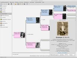 Gramps – Δημιουργία οικογενειακών γενεαλογικών δέντρων